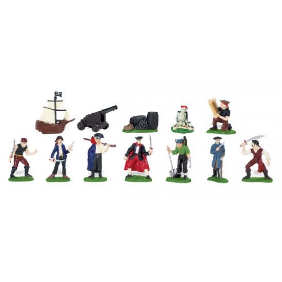 Piraten en accessoires van plastic