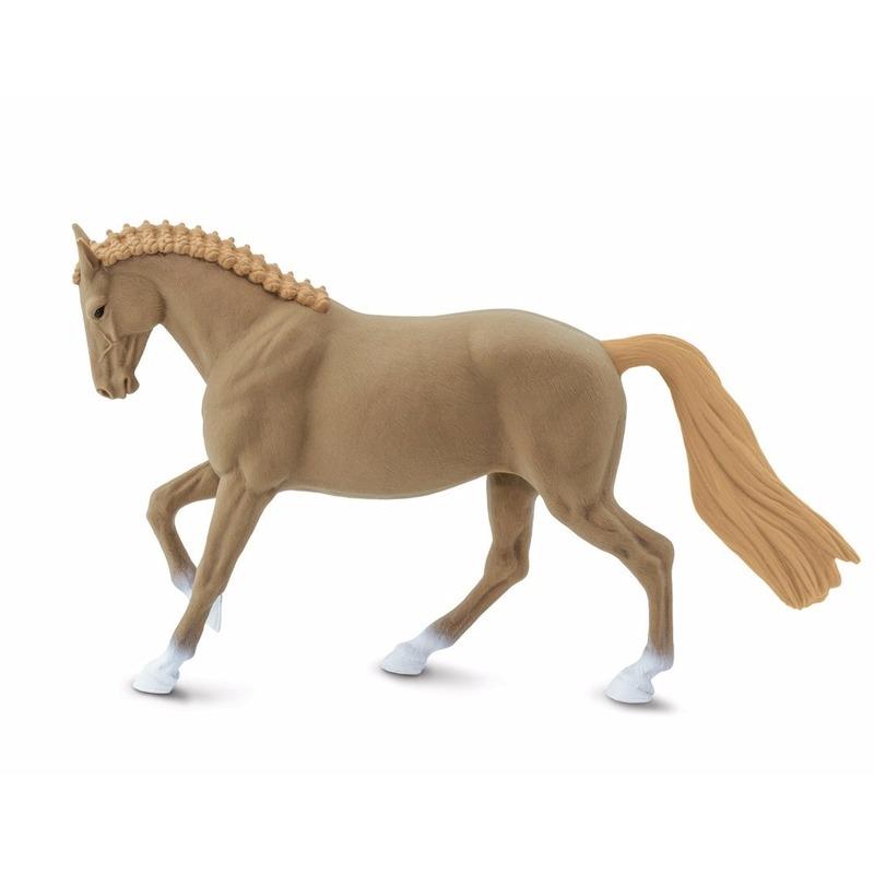 Plastic speelgoed figuur Hannoveraan paard merrie 15 cm