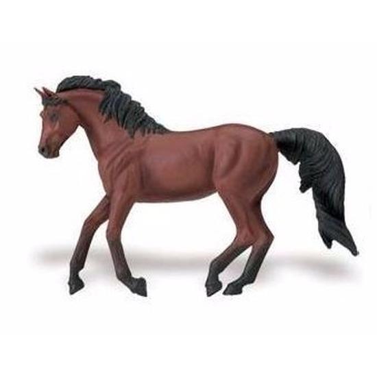Plastic speelgoed figuur Morgan paard merrie 15 cm