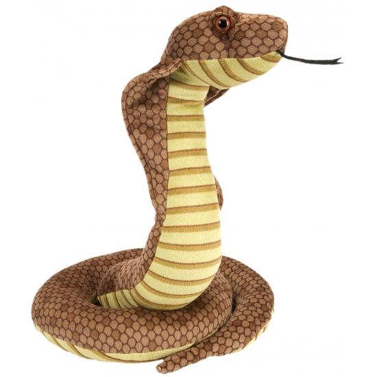 Pluche cobra knuffeltjes 30 cm