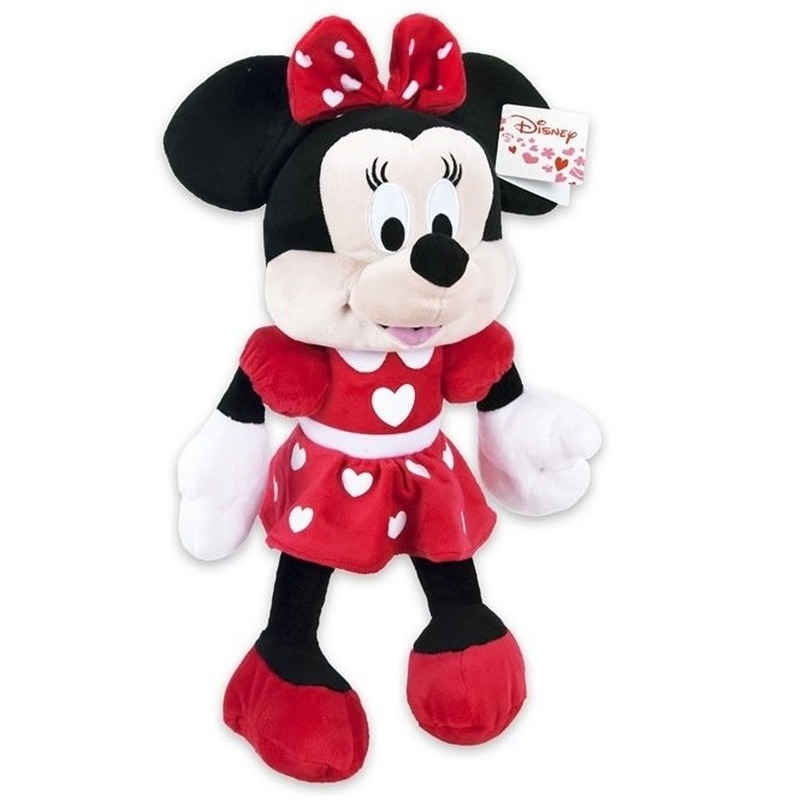 Pluche Disney Minnie Mouse knuffel 43 cm