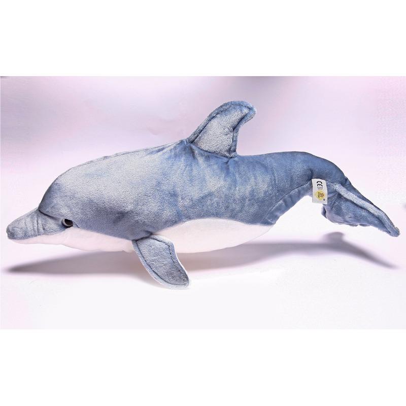 Pluche dolfijn knuffel 50 cm