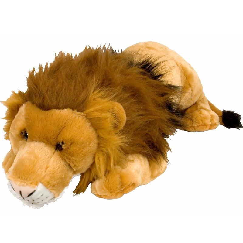 Pluche grote leeuwen knuffels 76 cm
