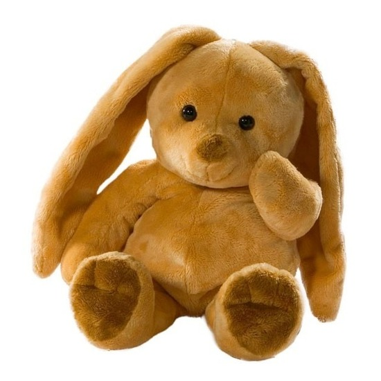 Pluche haas-konijn knuffel 35 cm