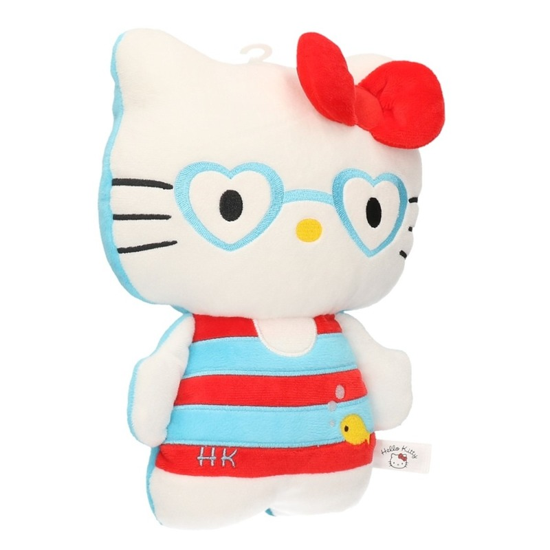 Pluche Hello Kitty met zwemkleding