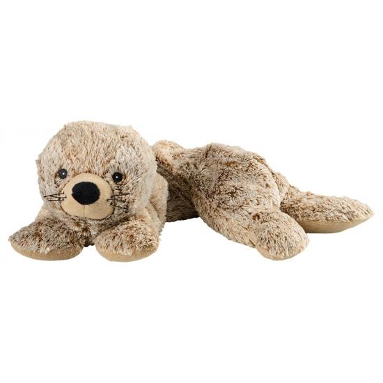 Pluche hotpack knuffel zeehond