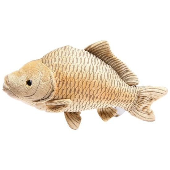 Pluche karper vissen knuffel 30 cm