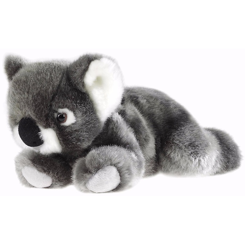 Pluche koala knuffel liggend 23 cm