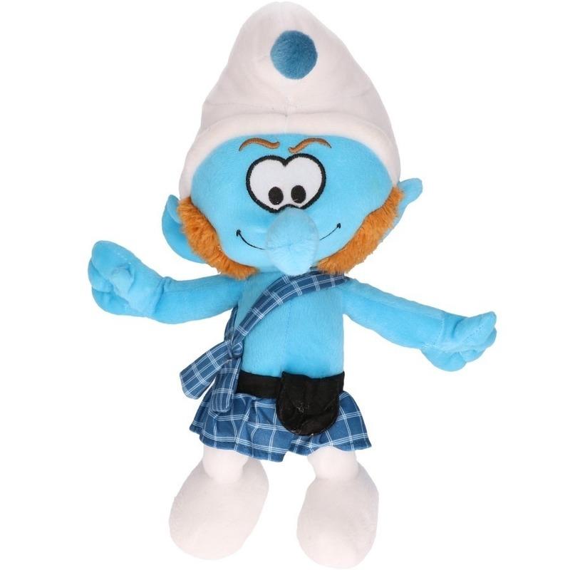 Pluche McSmurf Smurfen knuffel pop 38 cm speelgoed
