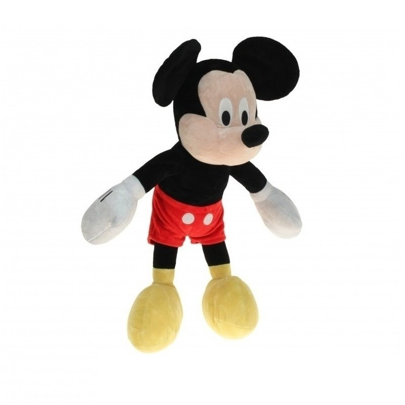 Pluche Mickey Mouse knuffel 80 cm