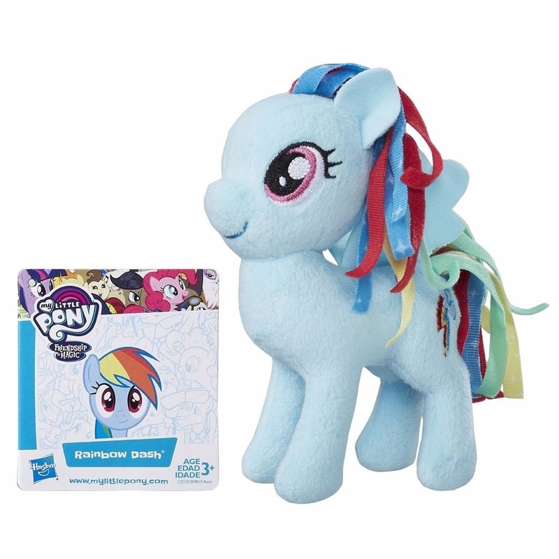 |Cartoon knuffels My Little Pony Pluche My Little Pony knuffel Rainbow Dash 13 cm