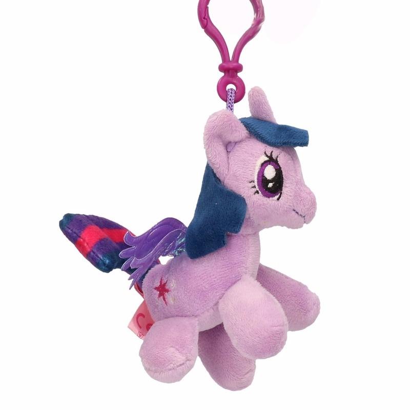 Pluche My Little Pony Knuffel Twilight Sparkle Paars 8 Cm In Dieren