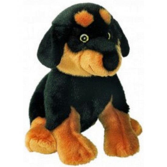 Pluche Rottweiler knuffel 31 cm