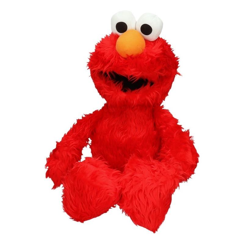 Pluche Sesamstraat Elmo mega knuffel 60 cm
