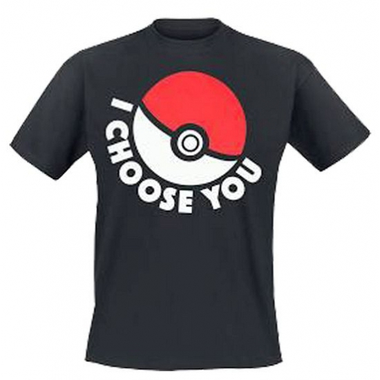 Pokemon t-shirt I choose you