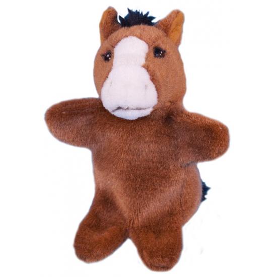 Premier Dowman Soft Toys Handpoppen|Poppen theater paardje 28 cm