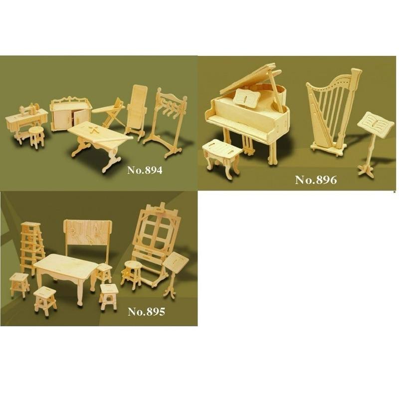 Poppenhuis meubels hobby