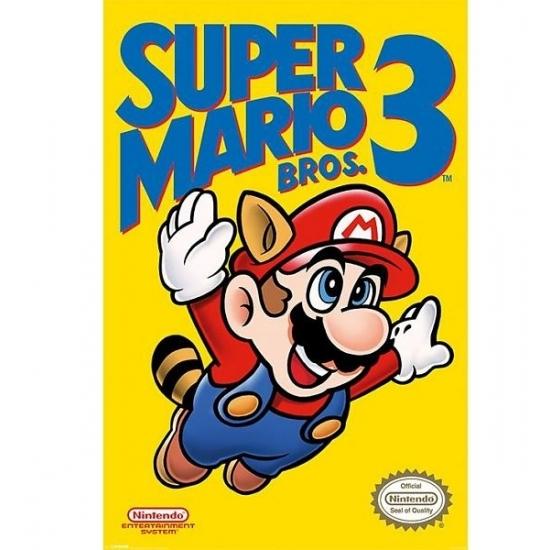 Poster Nintendo Mario Bros 61 x 91 cm