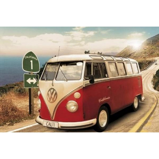 Posters van Volkswagen Camper