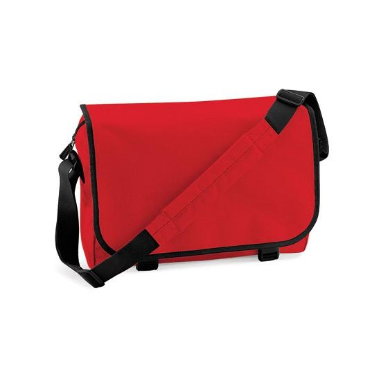Praktische aktetas 11 liter rood