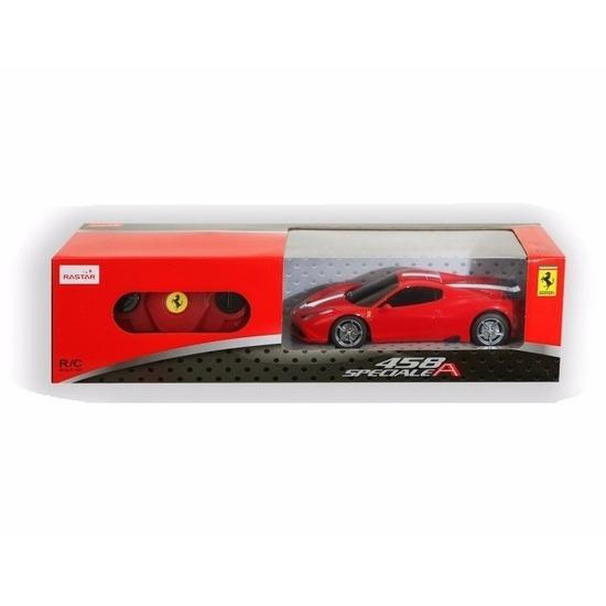 Radiografisch bestuurbare rode Ferrari 458 Speciale auto 1:24