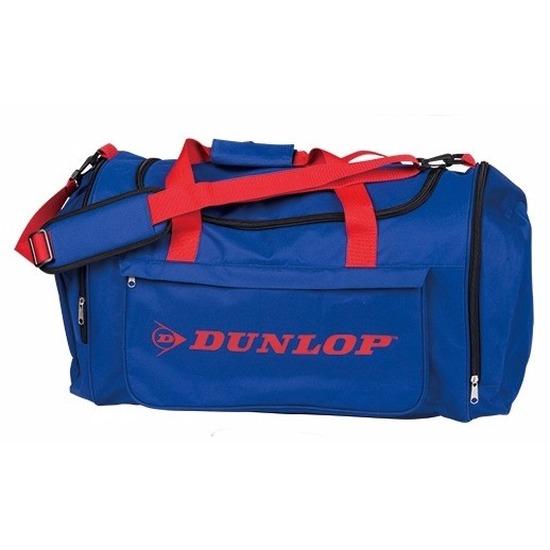 Reistas Dunlop blauw-rood 54 liter