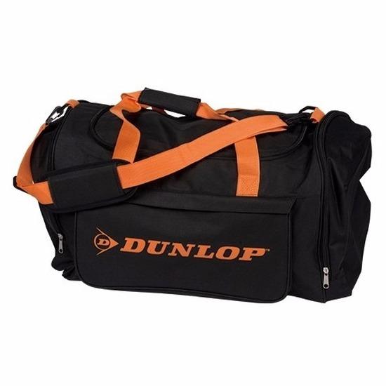 Reistas Dunlop zwart-oranje 54 liter