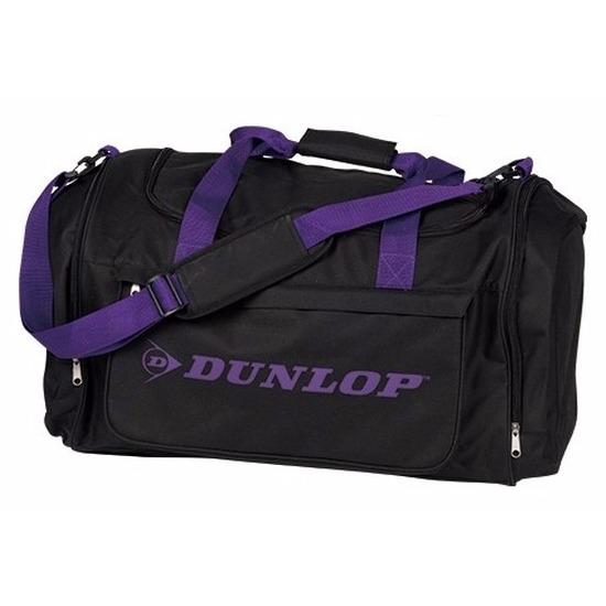 Reistas Dunlop zwart-paars 54 liter