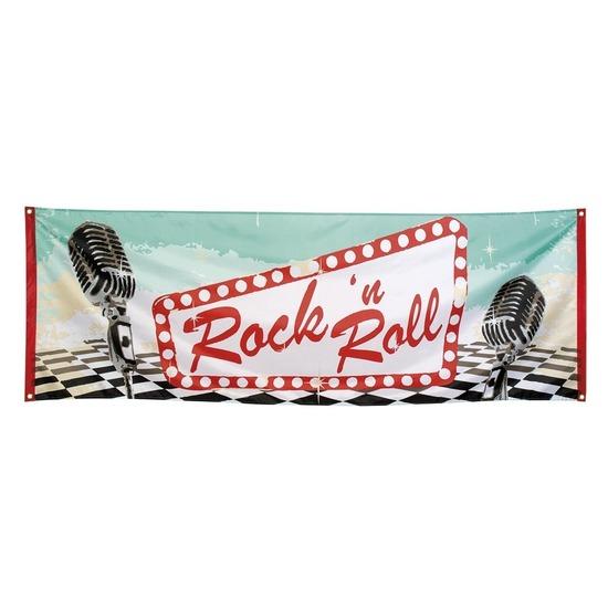 Rock n Roll banner 74 x 220 cm
