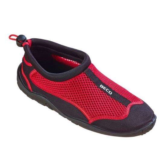Rode waterschoenen- surfschoenen dames