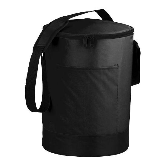 Ronde koeltas zwart 16 liter