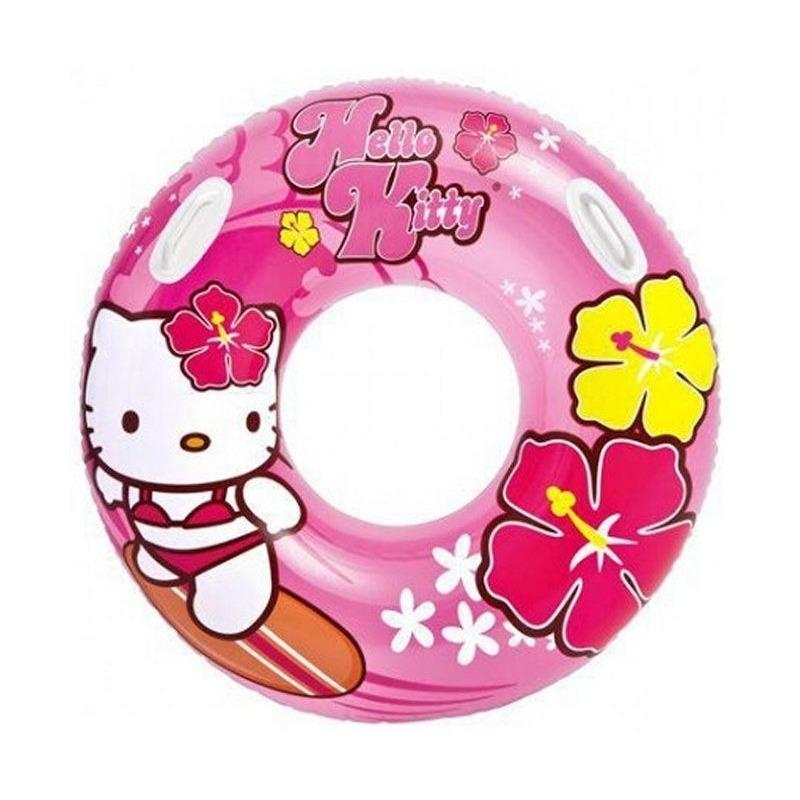 Roze Hello Kitty zwemband-zwemring 97 cm