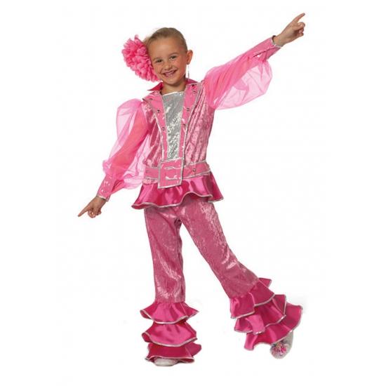 Roze Mama Mia Abba kleding kinderen
