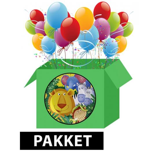 Safari kinderfeest pakket