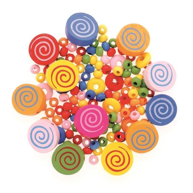 Sieraden maken kralenmix set cirkels