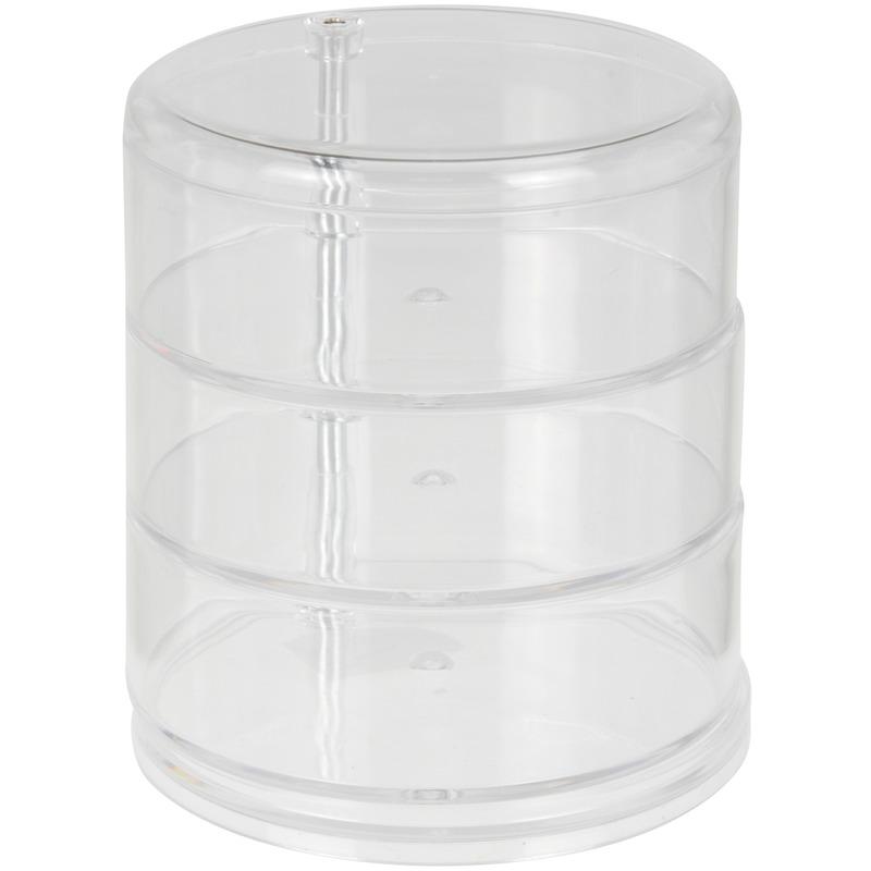 Sieraden organizer cilinder 14 cm