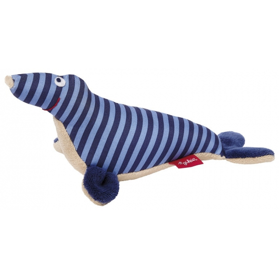 Sigikid zeehond rammelaar 19 cm
