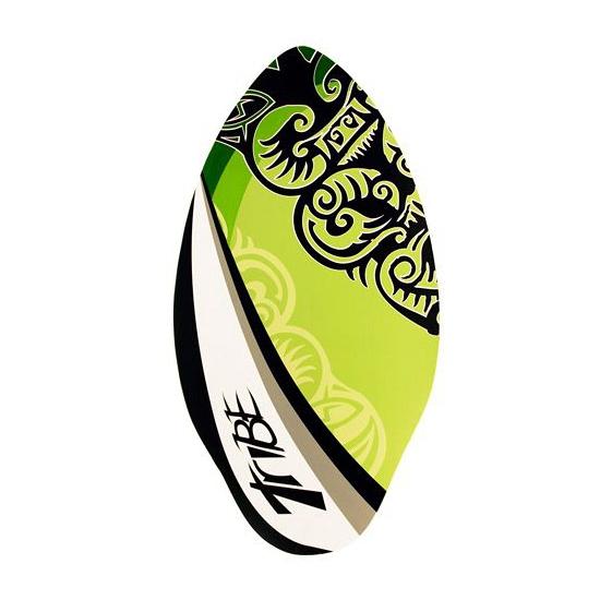 Skimboard groen kleur 100 cm