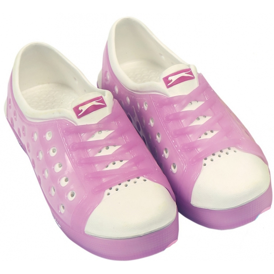 Slazenger waterschoenen voor dames roze-wit