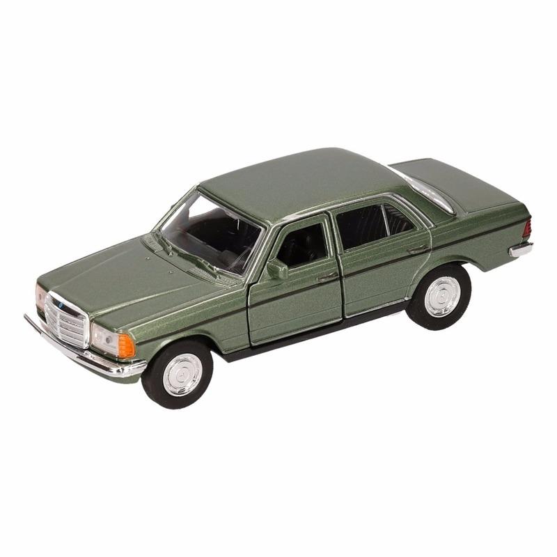 Speelgoed groene Mercedes-Benz W123 16 cm