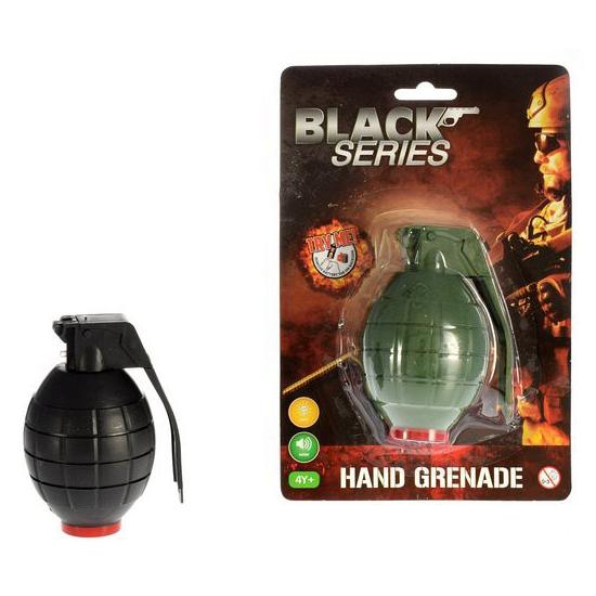 Speelgoed handgranaat met licht en geluid