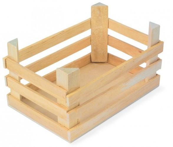 Speelgoed houten kist 18 cm