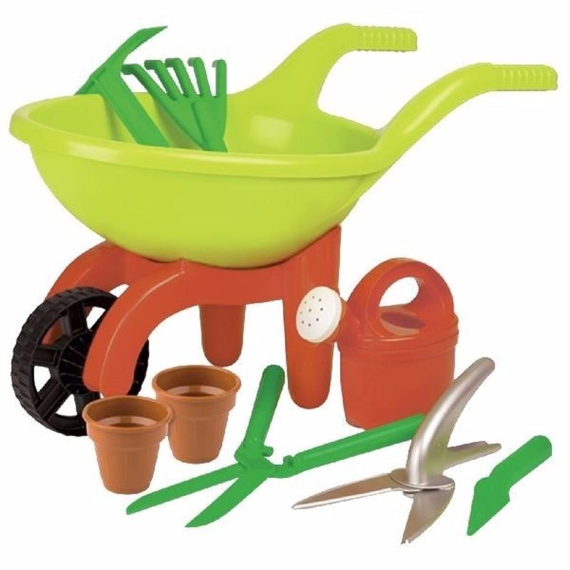 Speelgoed kruiwagen tuinset 9 delig Geen Buitenspeelgoed