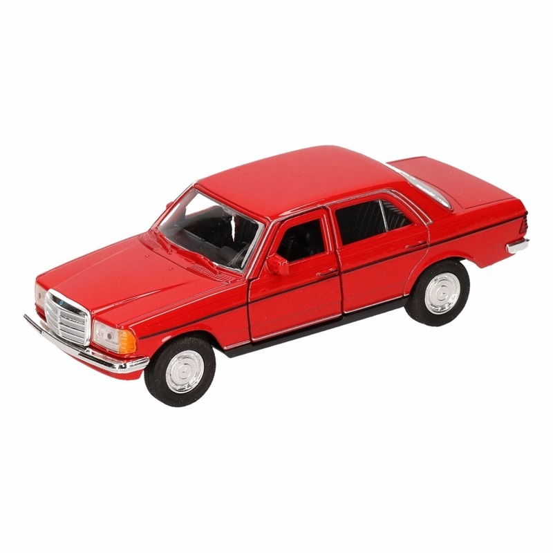 Speelgoed rode Mercedes-Benz W123 16 cm