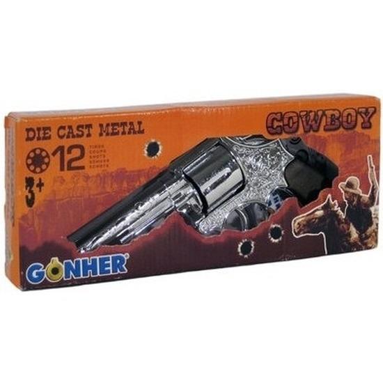Speelgoed-verkleed cowboy plaffertjes pistool 12 schots