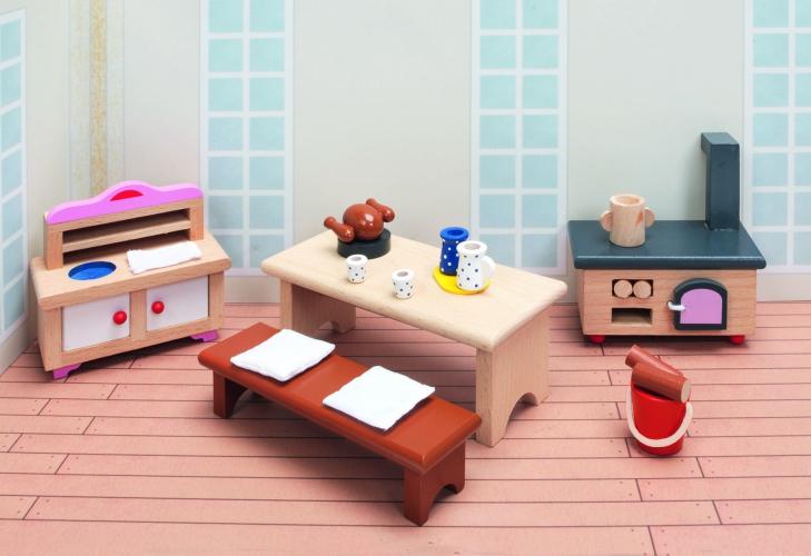 Speelgoed woonkamer keuken