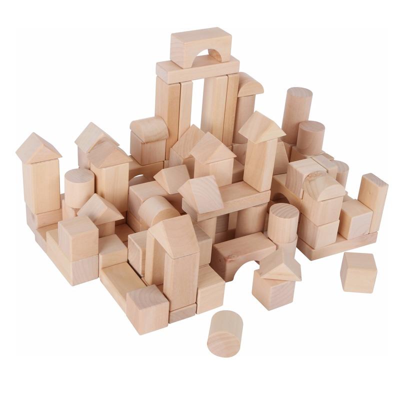 Speelgoed zak met blokken