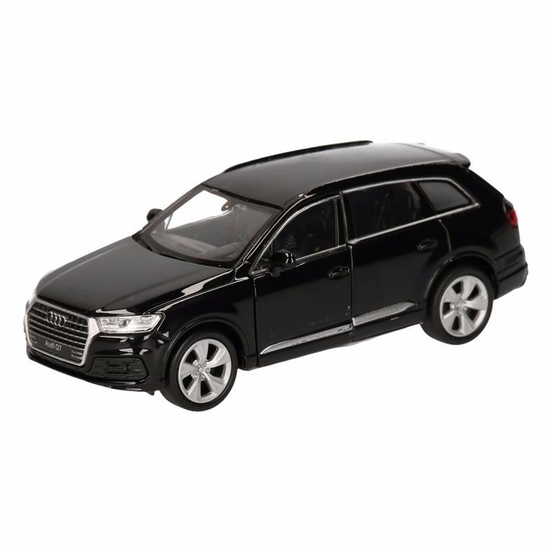 Speelgoed zwarte Audi Q7 auto 12 cm
