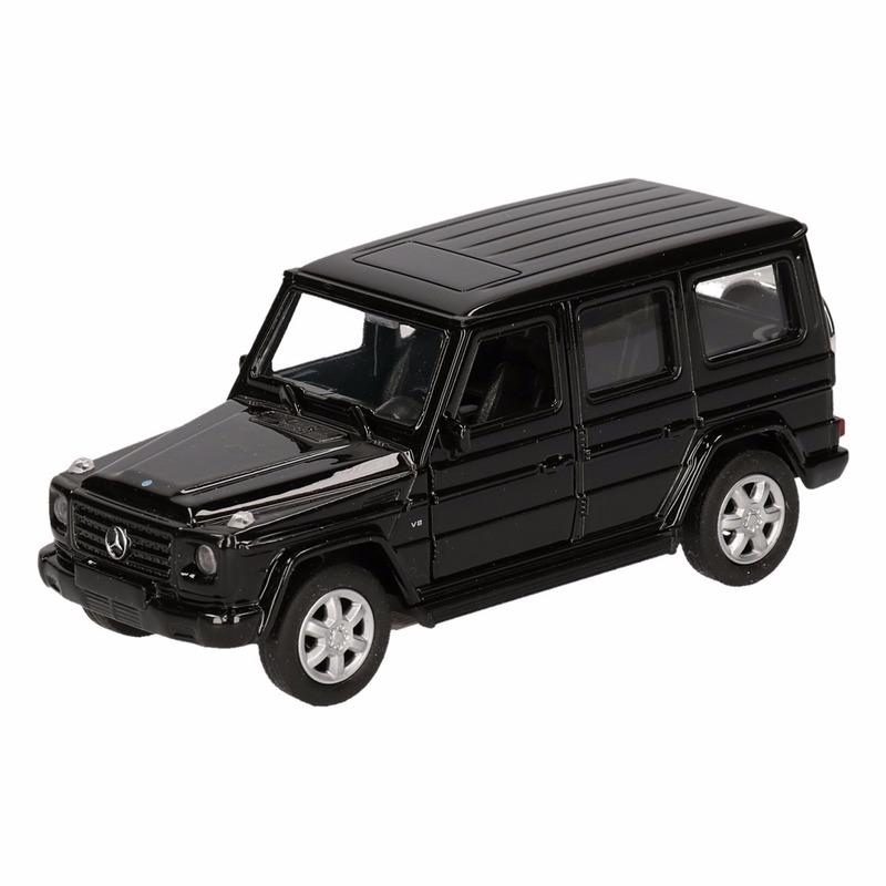 Speelgoed zwarte Mercedes-Benz G-Class speelauto 12 cm