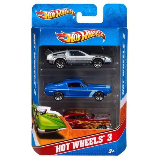 Speelgoedautootjes Hot Wheels 3 stuks